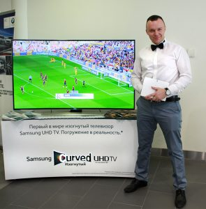 Телевизоры Samsung на тест-драйве BMW