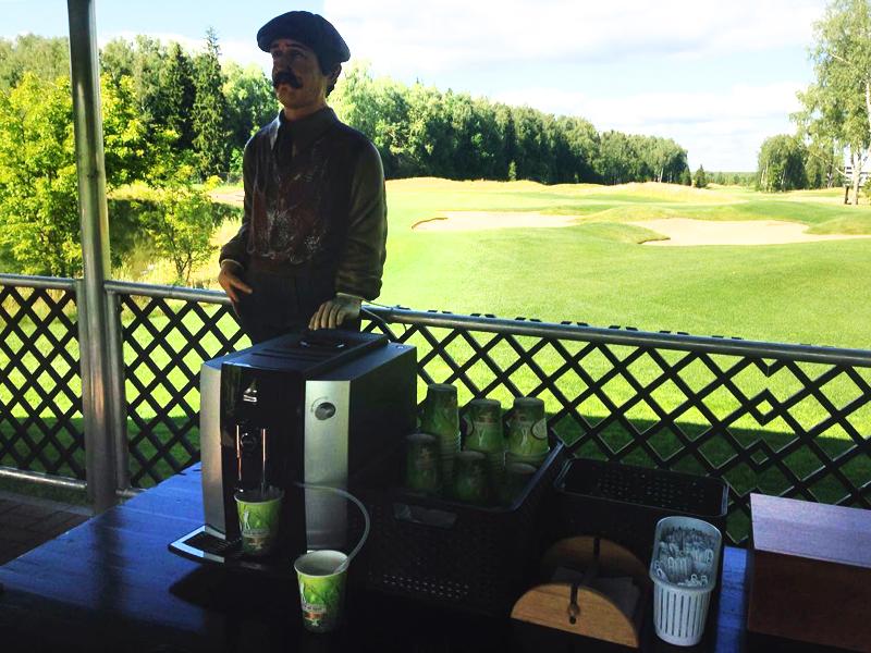 сезонная интеграция в гольф-клуб