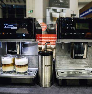 Кофемашины Miele на презентации Mercedes-Maybach